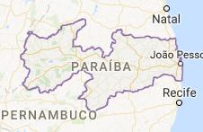 CEP da Paraíba - PB
