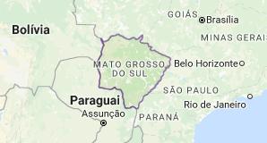 CEP do Mato Grosso do Sul - MS