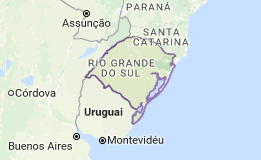 CEP do Rio Grande do Sul - RS